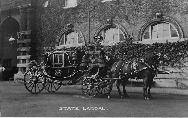 State Landau U K by Mrs Albert broom