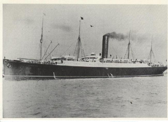 The Carpathia, the ship that rescued the Titanic survivors
