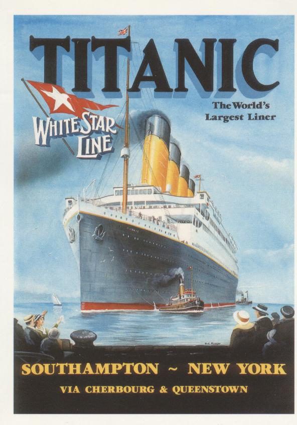 Titanic Marine Art Poster Collection 1994