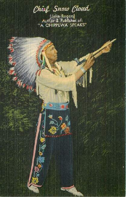 Chief Snow Cloud (John Rogers)