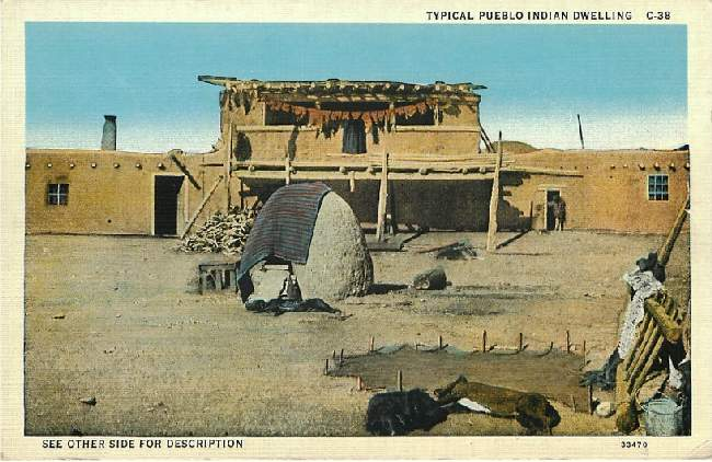 Typical Pueblo Indian Dwelling