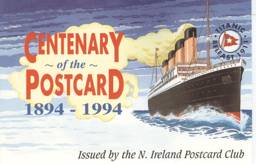 Centenary of the Posttcard 1894-1994 No.168nof an issue of 1000