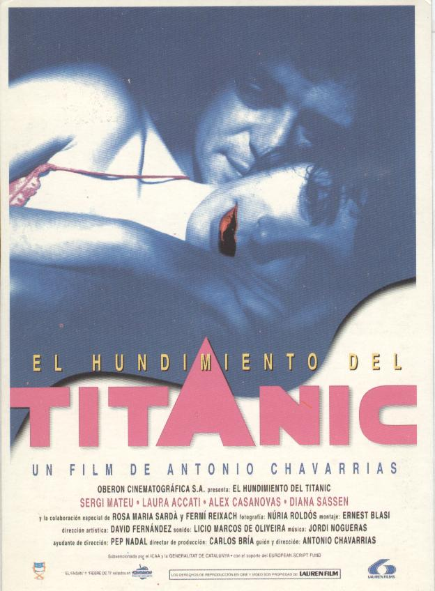 El Hundimiento del Titanic Postcard Reproduction