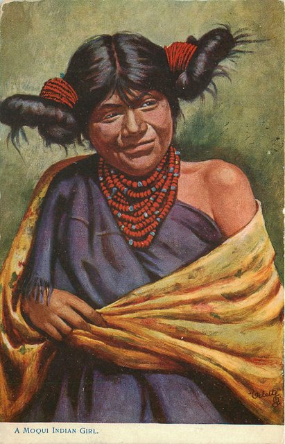 A Moqui Indian Girl