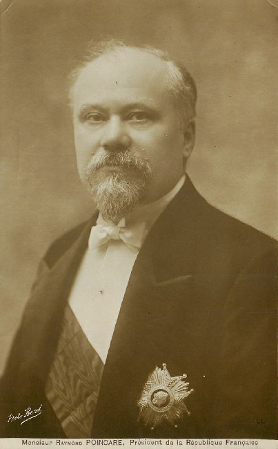 Poincare Monsieur Raymond, President France