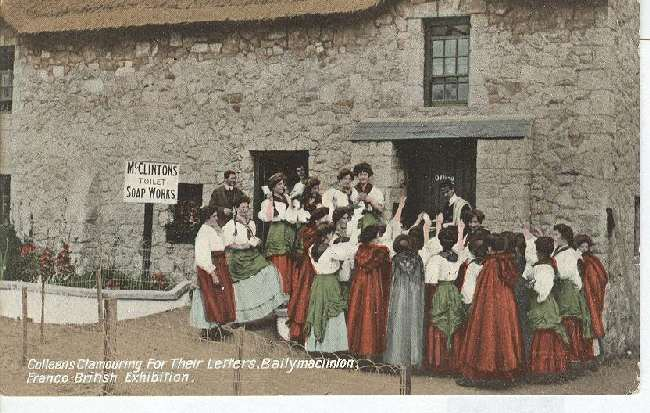 Colleens Clamouring for their letters, Ballymaclinton