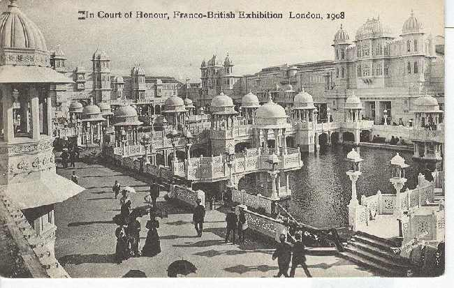 In Court of Honour,Franco-British Exhibition London 1908
