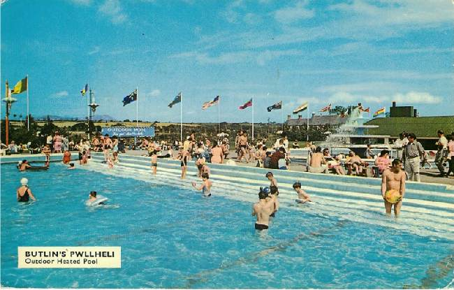 Butlin's Pwllheli - Outdoor Heated Pool