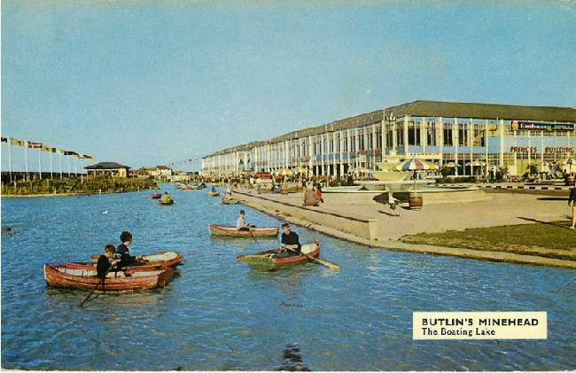 Butlin's Minehead - The Boating Lake