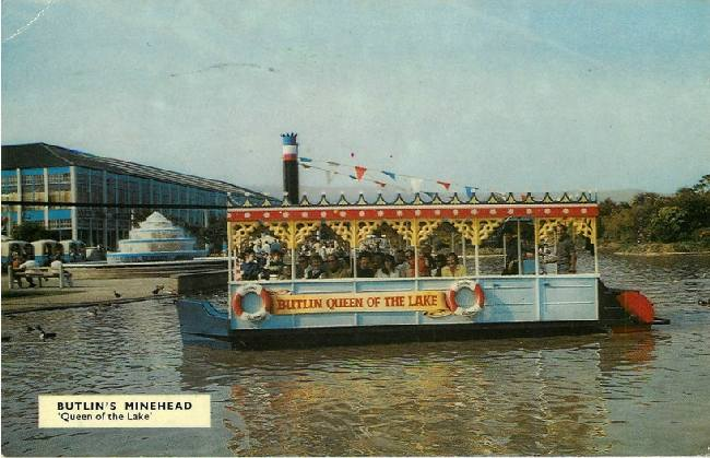Butlin's Minehead - 'Queen of the Lake'