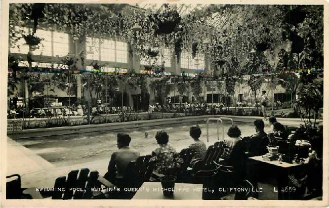 Swimming Pool, Butlin's Queen's Highcliffe Hotel, Cliftonville