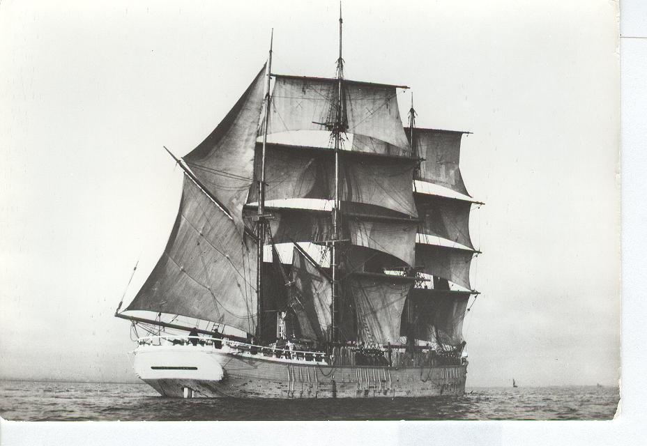 THE BARQUE National Maritime Museum Card No.308