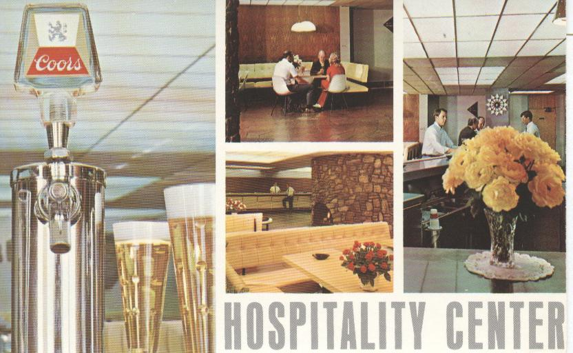 Alcohol Postcard - Coors Hospitality Center