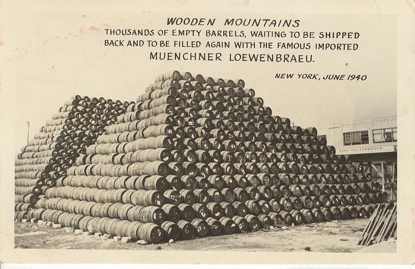 Alcohol Postcard - Wooden Mountains