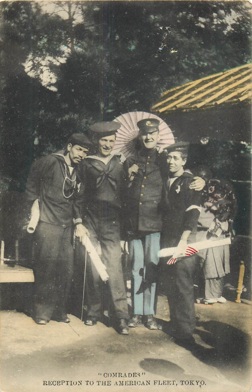 Reception to the American Fleet, Tokyo, Japan
