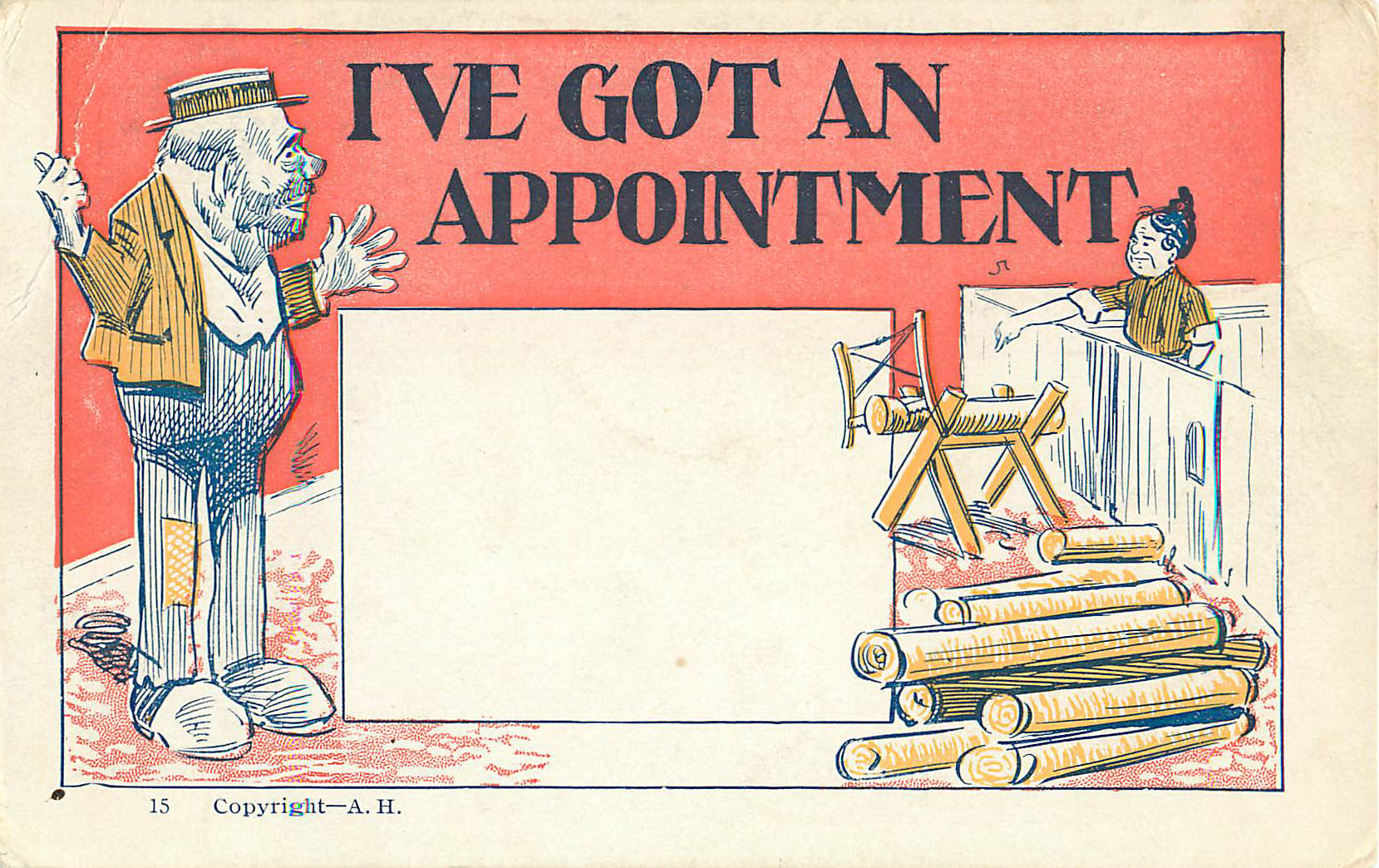 I've Got An Appointment - Card