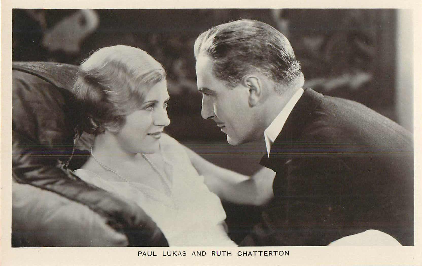 Paul Lukas & Ruth Chatterton