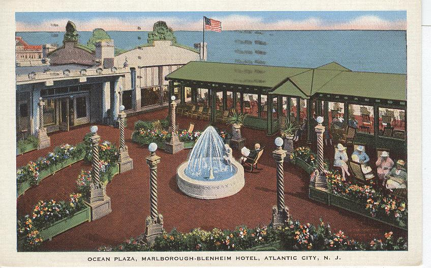 Ocean Plaza Marlborough-Blenheim Hotel Atlantic City NJ
