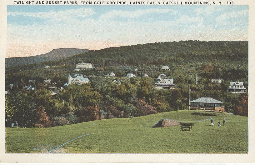 Twilight and Sunset Parks, Catskill Mountains, N.Y.