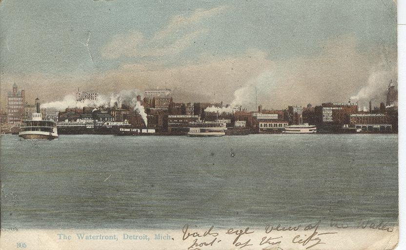 The Waterfront, Detroit, Mich.