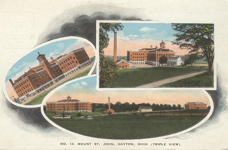 No. 13 Mount St. John, Dayton, Ohio (triple View)