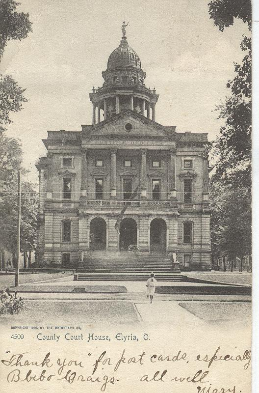 County Court House, Elyria, Ohio