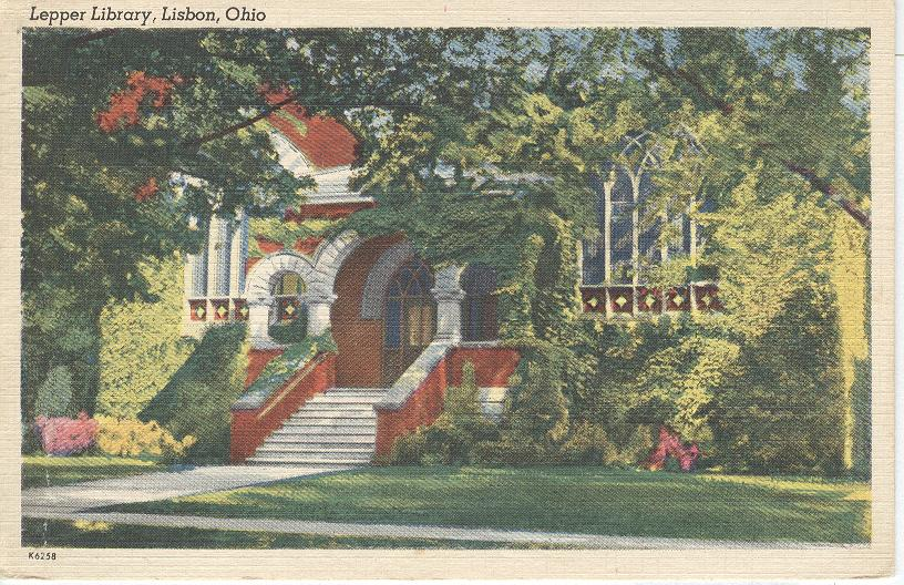 Lepper Library, Libson, Ohio