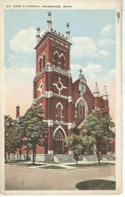 St. Mary's Church, Muskegon, Mich.