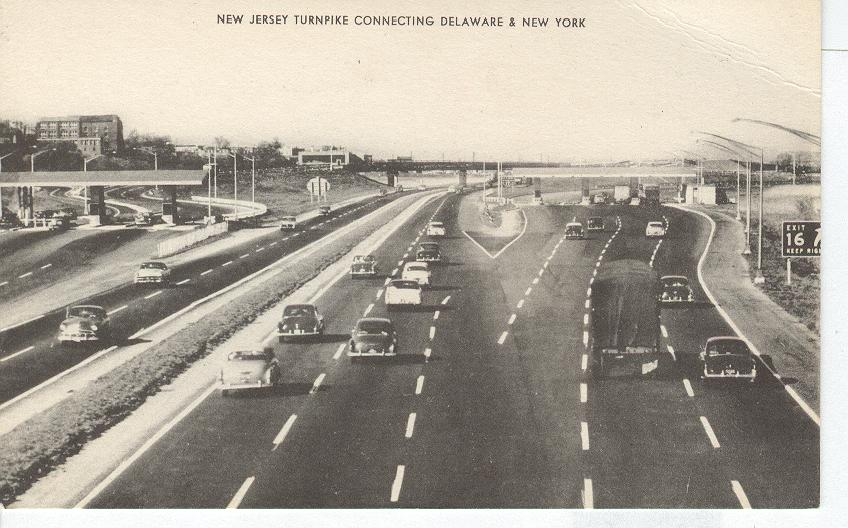 New Jersey Turnpike Connecting Delaware & New York