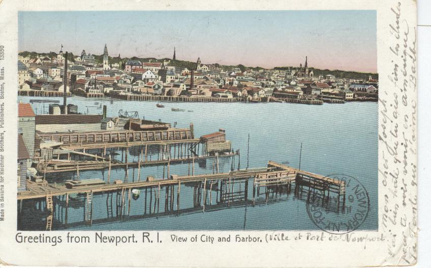 Greetings from Newport, R.I.