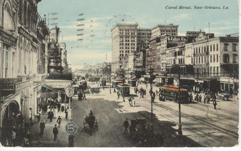 Canal Street, New Orleans, La.