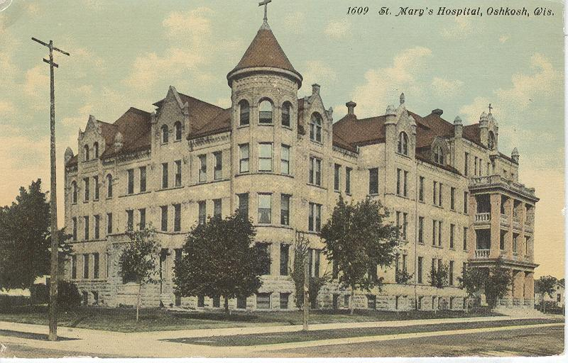 1609 St. Mary's Hospital, Oshkosh, Wis.