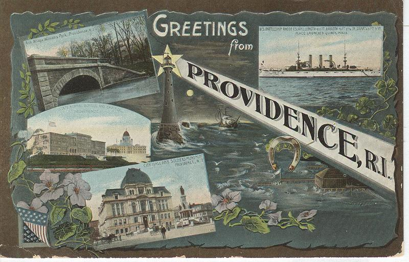 Greetings from Providence, R.I.