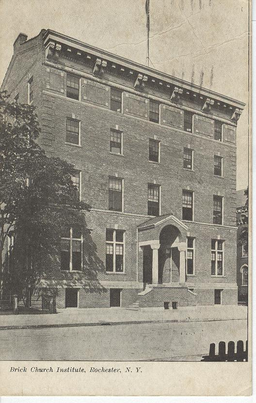 Brick Church Institute, Rochester, N.Y.