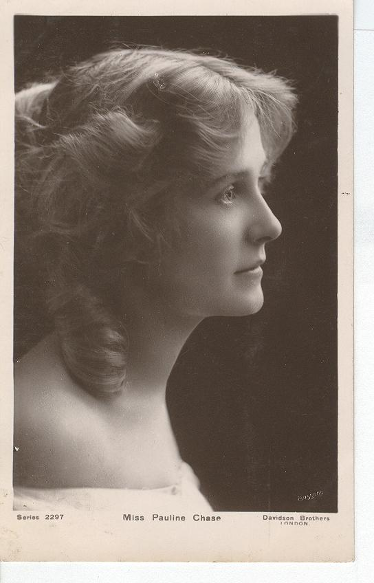 Miss Pauline Chase... Postcard