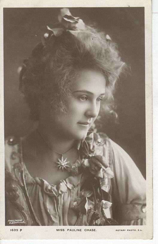 Miss Pauline Chase.. Postcard