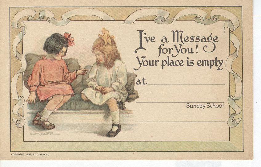 Sunday School Invitation