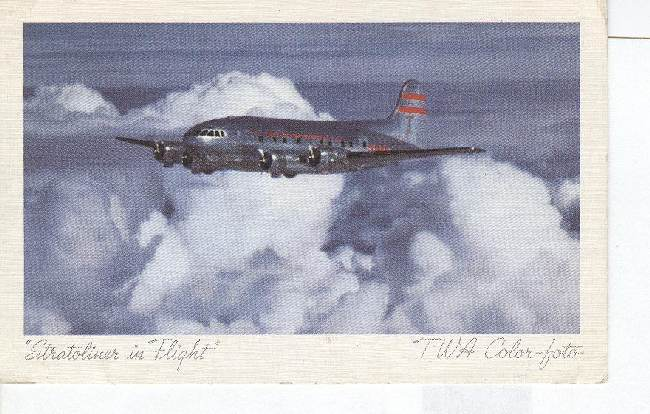 """ STRATOLINER in FLIGHT """