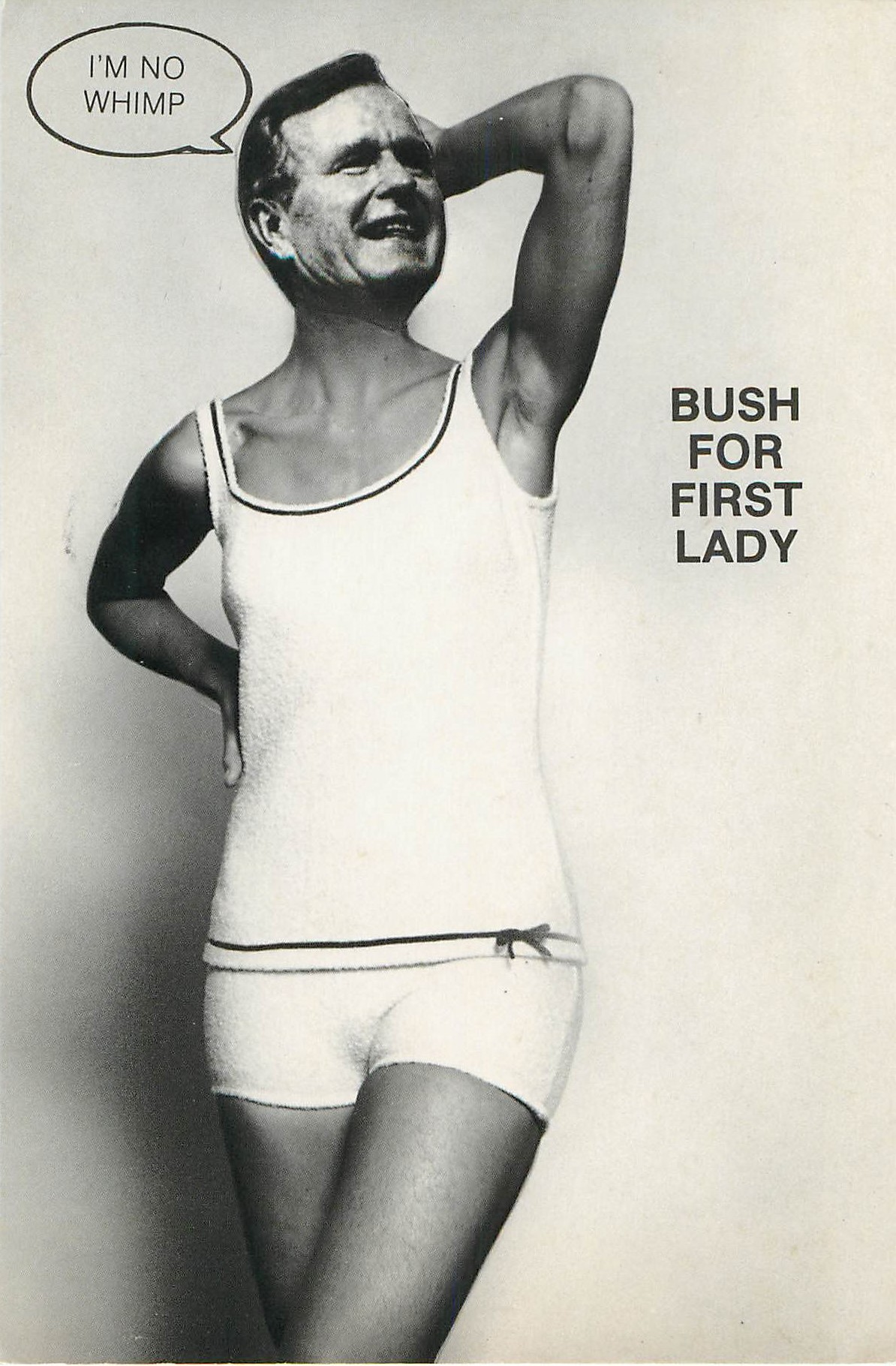 """Bush For First Lady"""