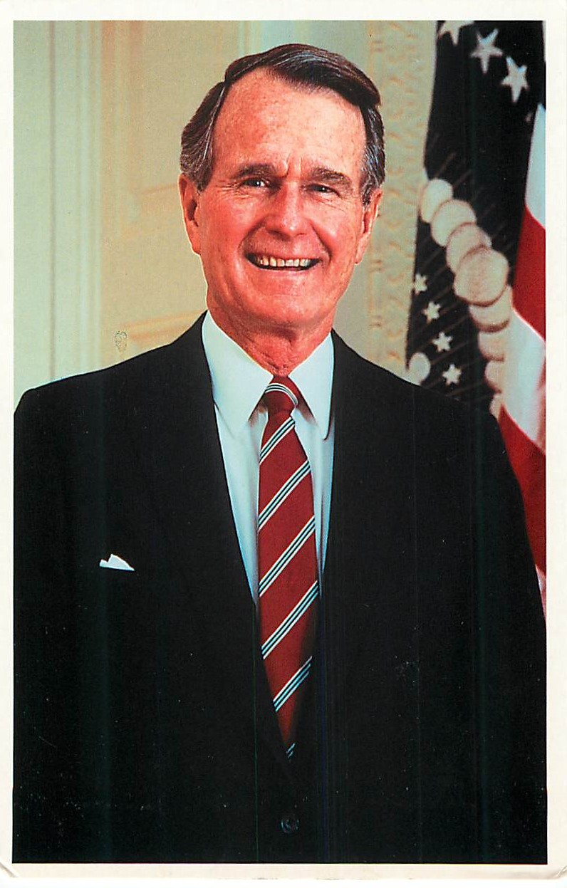 """President George Bush, Sr. - The Distinguished Collection"""