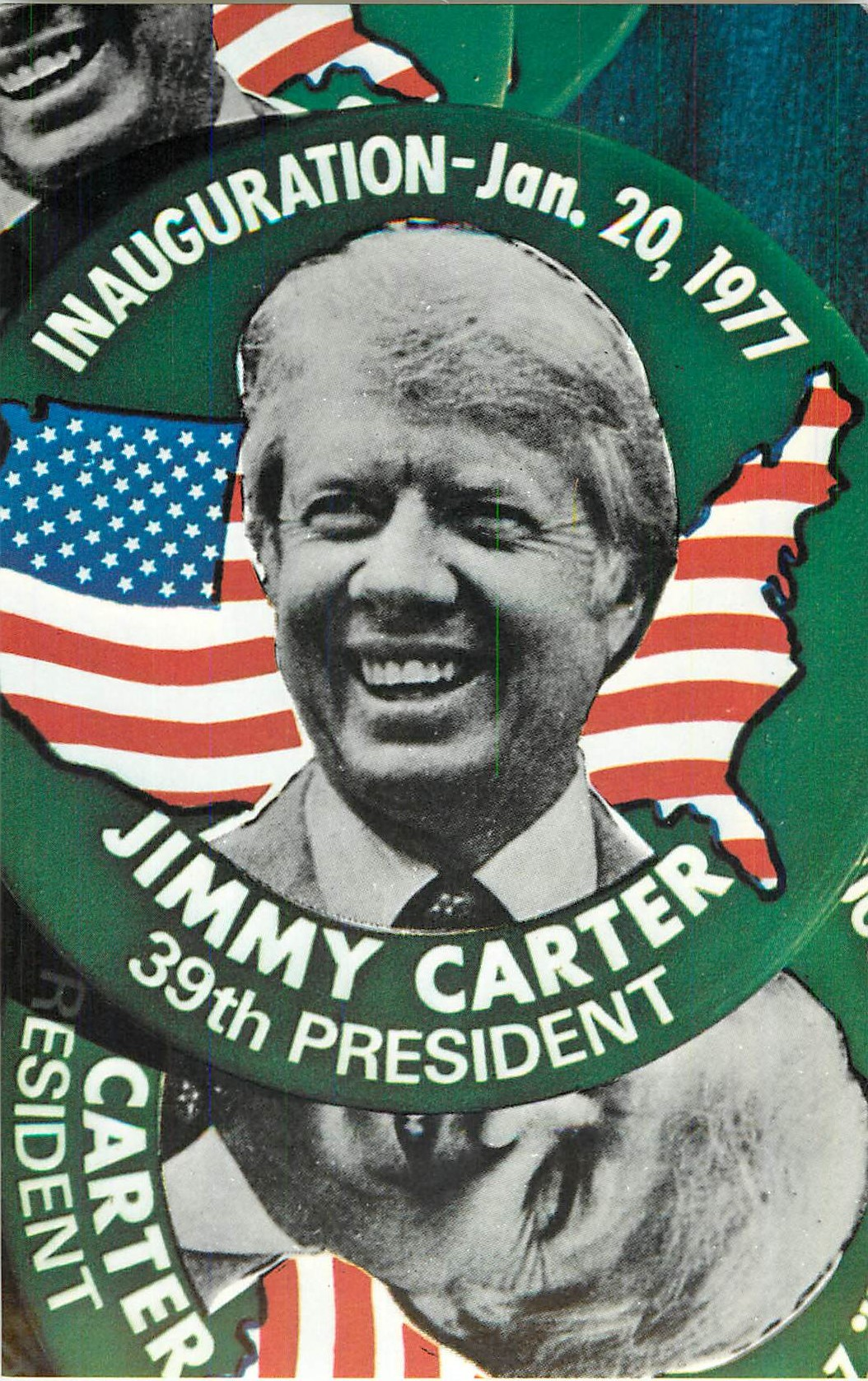 """Jimmy Carter Buttons"""