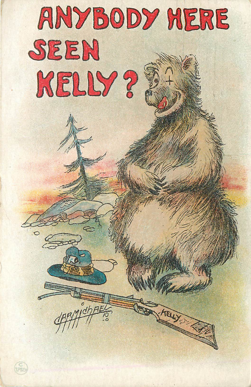 """Anybody Here Seen Kelly?"" With Bear"