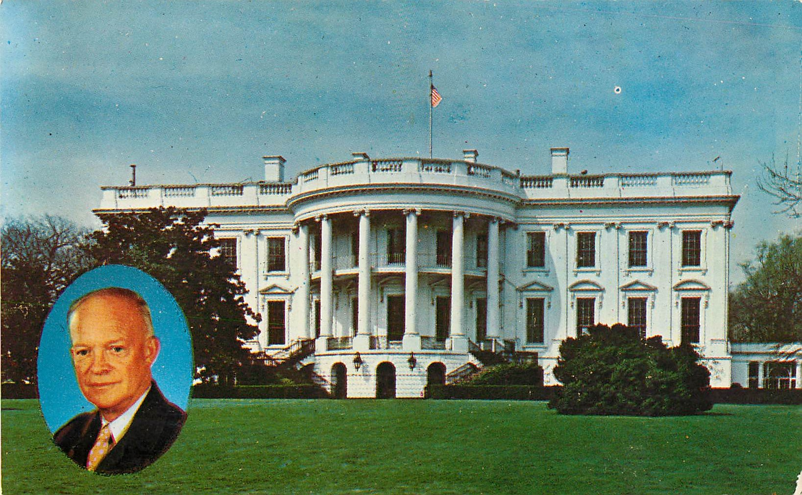 """President Eisenhower and the White House"""