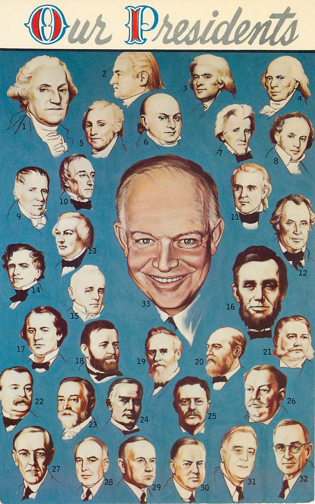"""Our Presidents - Through Eisenhower"""