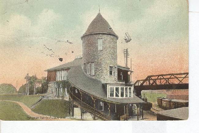 Canadian Pacific Railway Station, Windsor Canada Postcard