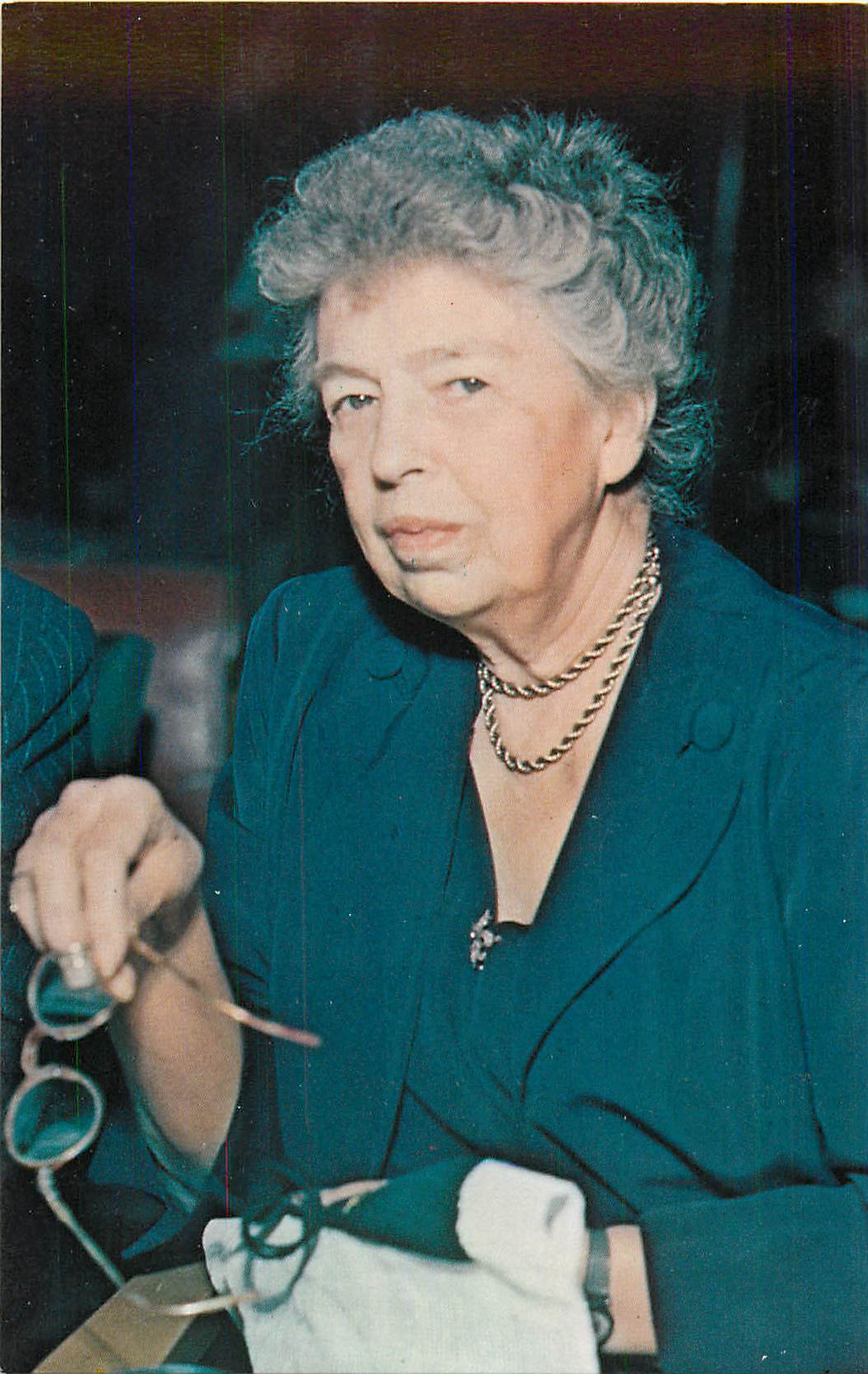 """Photograph of Eleanor Roosevelt"""