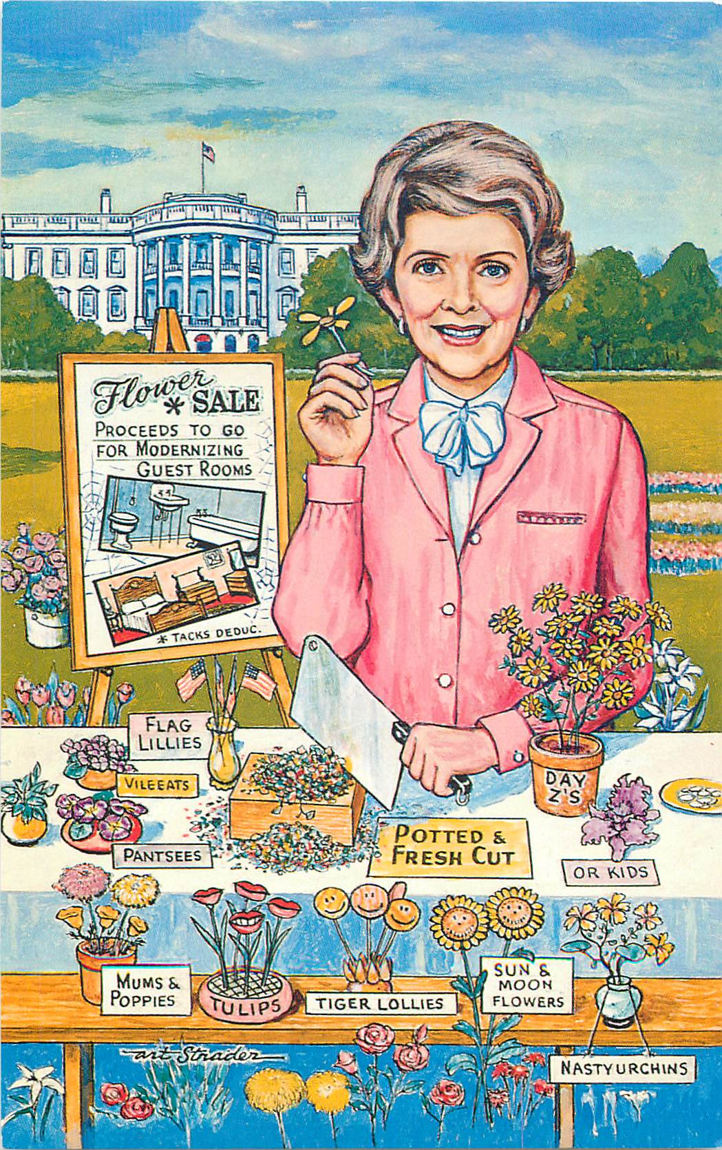 """Nancy's Flower Sale"""
