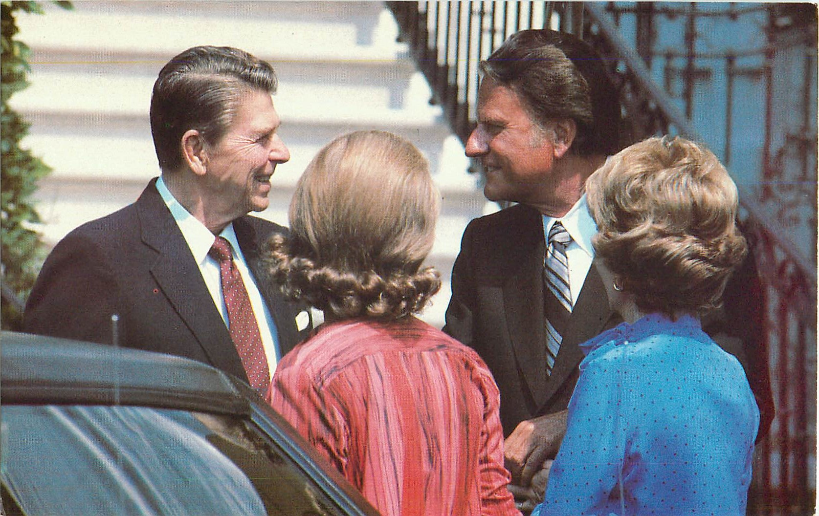 """Billy Graham and Ronald Reagan"""