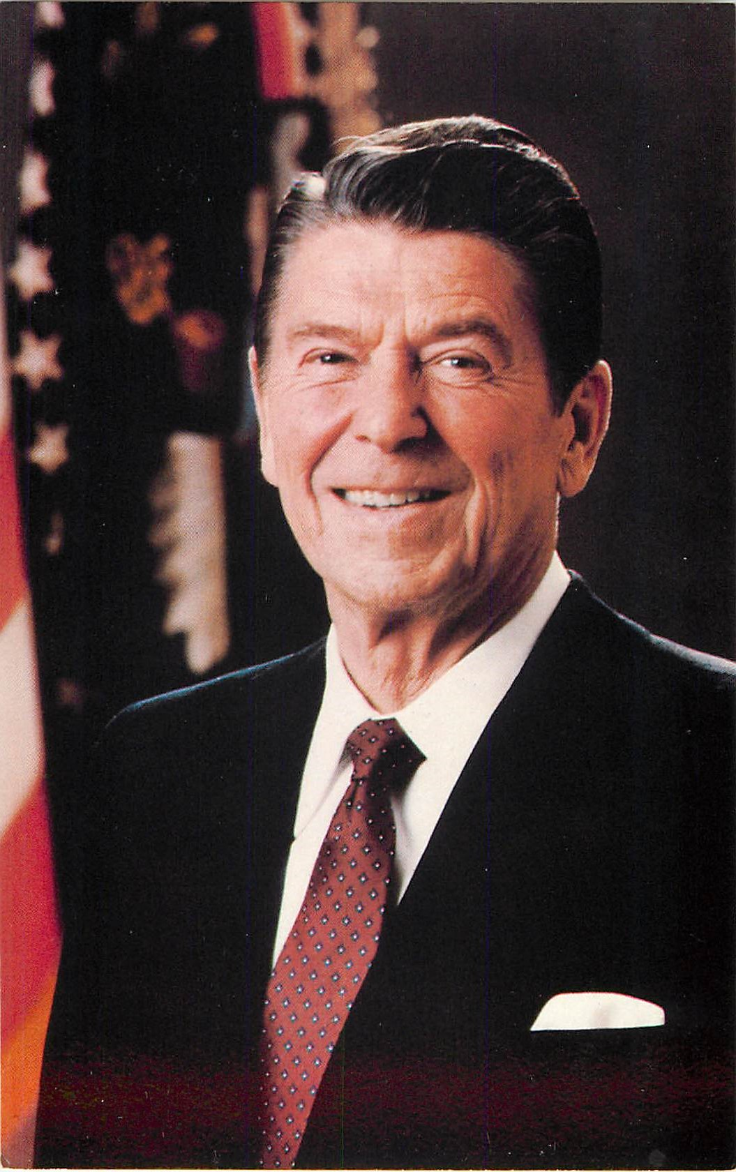 """Ronald Reagan; Official White House Portrait"""