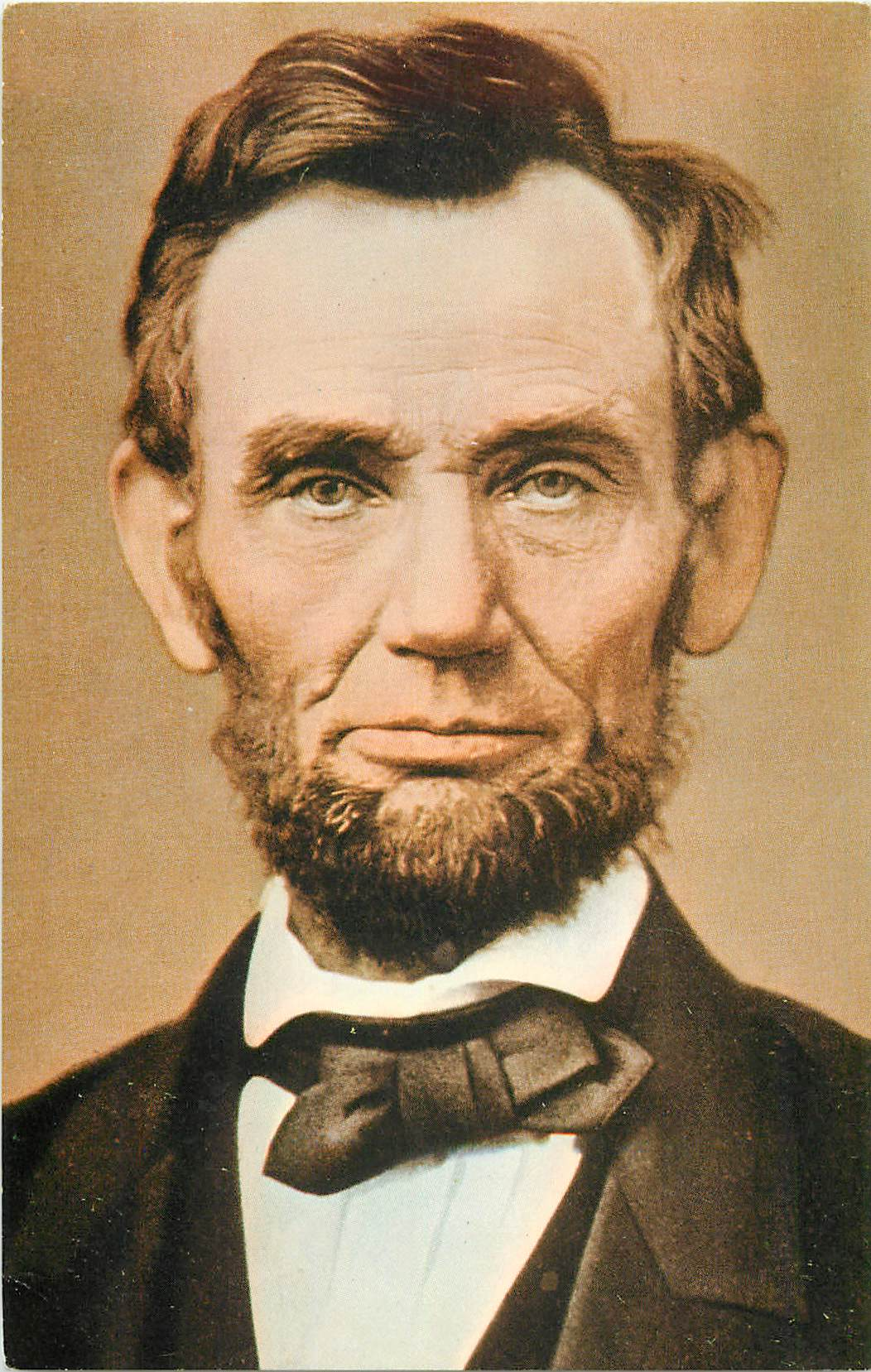 """Abraham Lincoln Photograph - by Mathew Brady"""